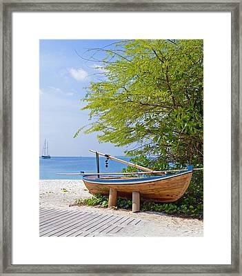 Time Out Framed Print by Corinne Rhode