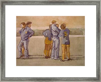 Time Out Framed Print by Nigel Wynter