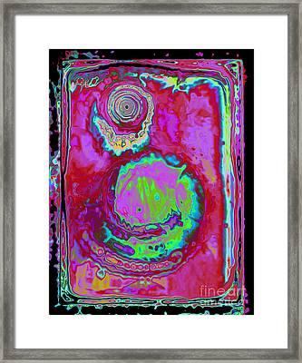 Time Slip Framed Print by Roxy Riou