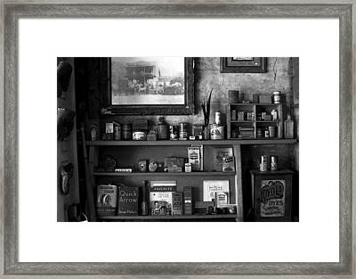 Time Standing Still Framed Print by David Lee Thompson