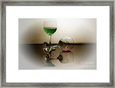 Time To Leave Framed Print by Arnie Goldstein