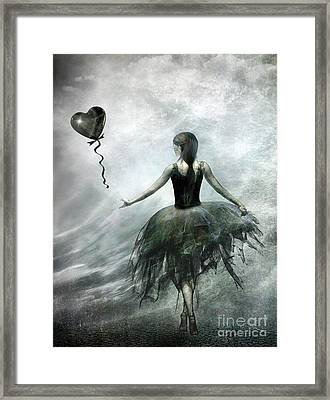 Time To Let Go Framed Print by Jacky Gerritsen