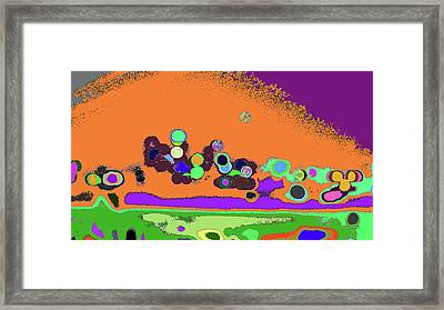 Time To Shine Your Color On Me Framed Print by Kenneth James