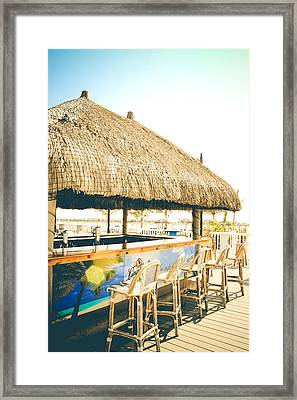 Time To Tiki Framed Print by Colleen Kammerer