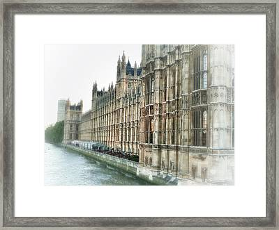 Time Travel Framed Print by Connie Handscomb