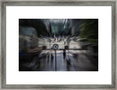 Time Traveller Framed Print by Martin Newman
