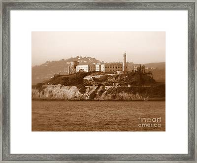 Timeless Alcatraz Framed Print by Carol Groenen