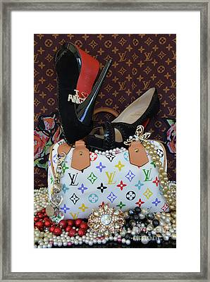 Timeless Beautiful Accessories 44 Framed Print by To-Tam Gerwe