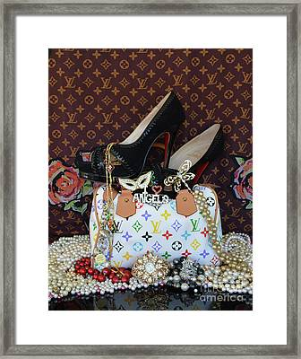 Timeless Beautiful Accessories 45 Framed Print by To-Tam Gerwe