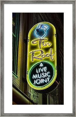 Tin Roof Framed Print by Stephen Stookey