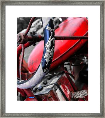 Tinker Bell's Tractor  Framed Print by Steven  Digman