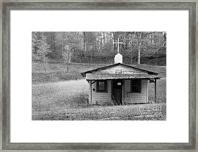 Tiny Church Framed Print by Arni Katz