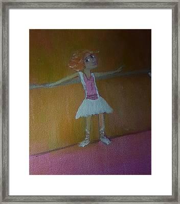 Tiny Dancer Framed Print by Cindy  Riley