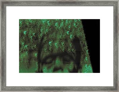 Tired Framed Print by Marnie Patchett