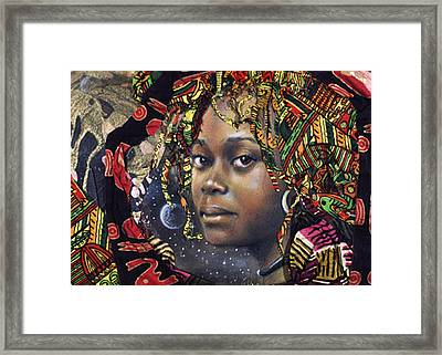 Tishauna's Moon Framed Print by Gary Williams