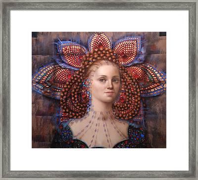 Titania 2 Framed Print by Loretta Fasan