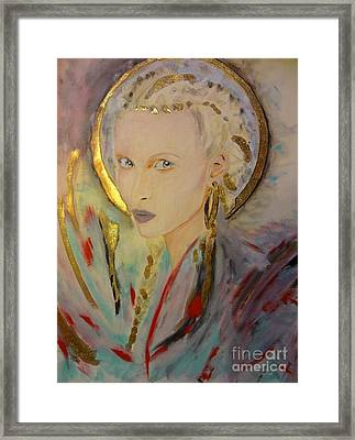 Titania Framed Print by Victoria Rosenfield
