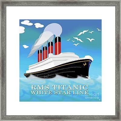 Titanic Framed Print by Neil Finnemore