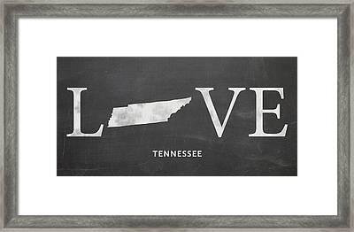 Tn Love Framed Print by Nancy Ingersoll