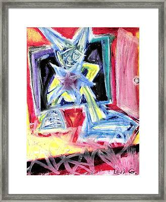 To Be A Star Framed Print by Levi Glassrock