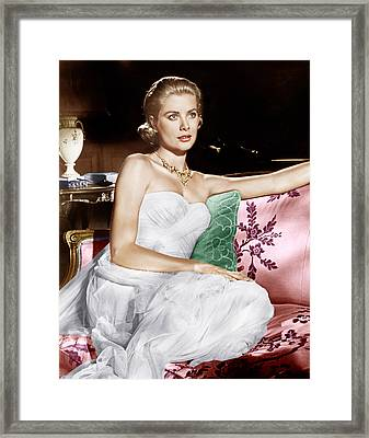 To Catch A Thief, Grace Kelly, 1955 Framed Print by Everett