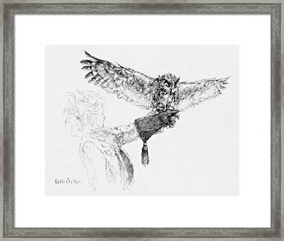 To Have Wings Framed Print by Beth Carlton