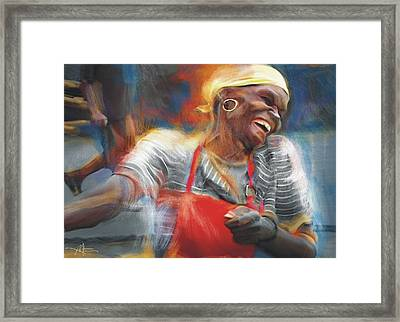 To Laugh Again Framed Print by Bob Salo