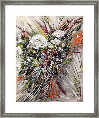 To My Mother Framed Print by Jose Luis Reyes