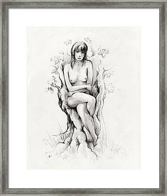 To Remain Framed Print by Rachel Christine Nowicki