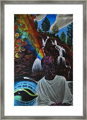 To Reveal And To Receive Framed Print by Matthew Fredricey