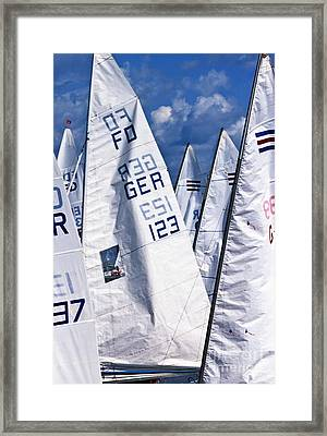 To Sea - To Sea  Framed Print by Heiko Koehrer-Wagner