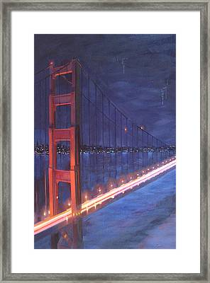 To The Heart Framed Print by Aaron Memmott