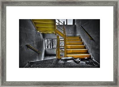 To The Higher Ground Framed Print by Evelina Kremsdorf