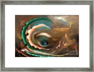 To The Inner World Framed Print by Gabriela Tasiro