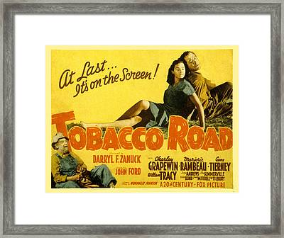 Tobacco Road, Charley Grapewin, Aka Framed Print by Everett
