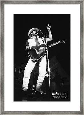 Toby Keith 95-1547 Framed Print by Gary Gingrich Galleries