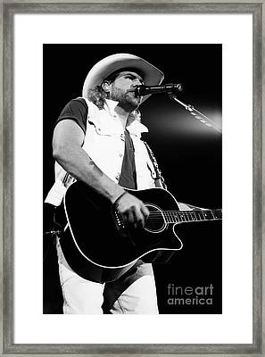 Toby Keith 95-1553 Framed Print by Gary Gingrich Galleries