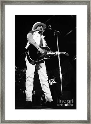 Toby Keith 96-1549 Framed Print by Gary Gingrich Galleries