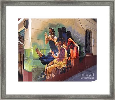 Tocando Palmas Framed Print by Julie Pacheco-Toye