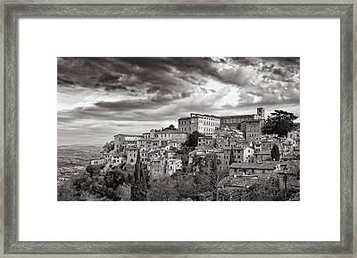 Todi Framed Print by Michael Avory