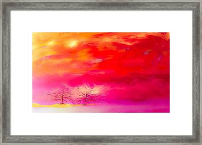 Together Forever Framed Print by Barry Knauff