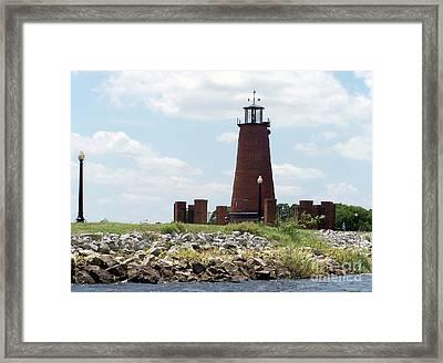 Toho Light House Framed Print by Jack Norton