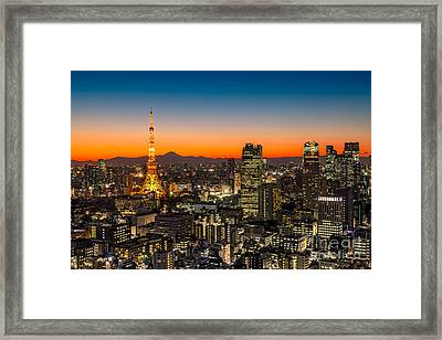 Tokyo 03 Framed Print by Tom Uhlenberg