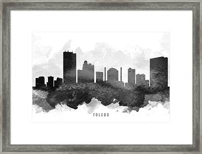 Toledo Cityscape 11 Framed Print by Aged Pixel