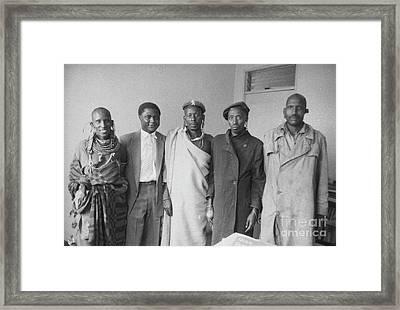 Tom Mboya Framed Print by The Harrington Collection