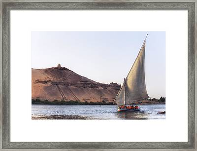 Tombs Of The Nobles - Egypt Framed Print by Joana Kruse