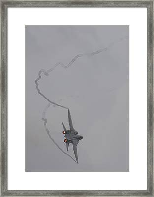 Tomcat Max Performance Turn Framed Print by John Clark