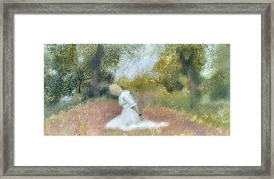 Tomorrow---could I Lock In Your Love, Baby Framed Print by Weiyu Xia
