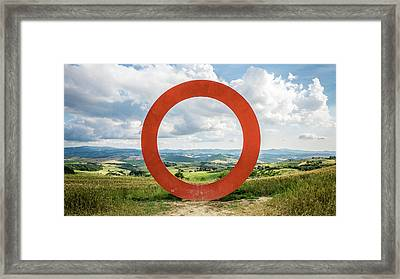 Anello - Tuscany, Italy - Landscape Photography Framed Print by Giuseppe Milo