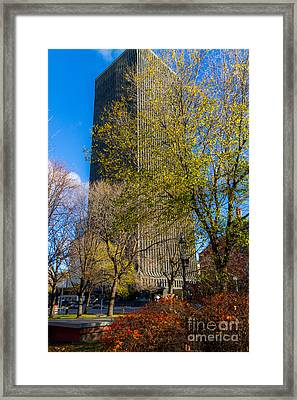 Toner Tower Framed Print by William Norton